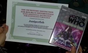Award - Juniperfish