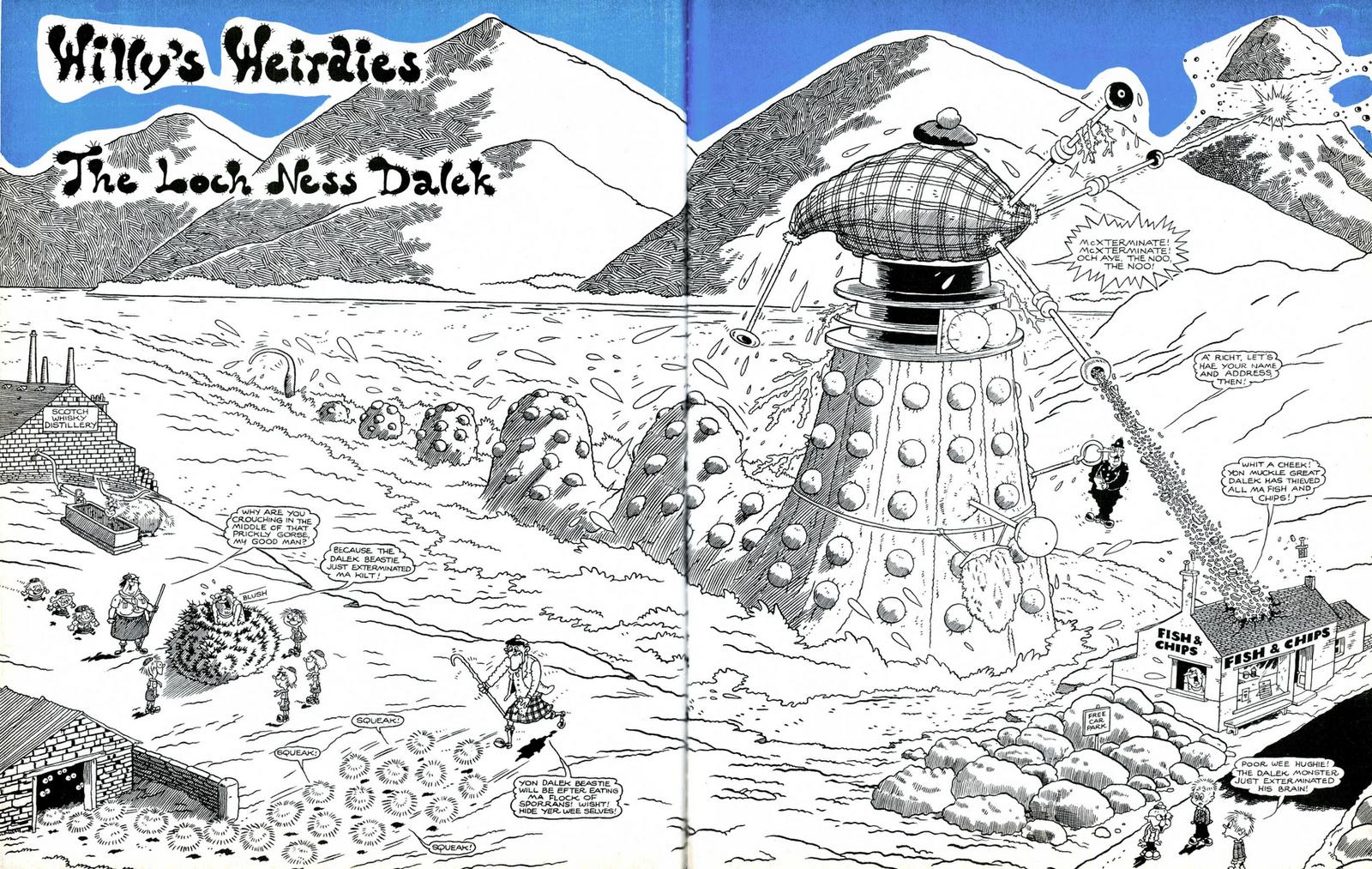 The Loch Ness Dalek
